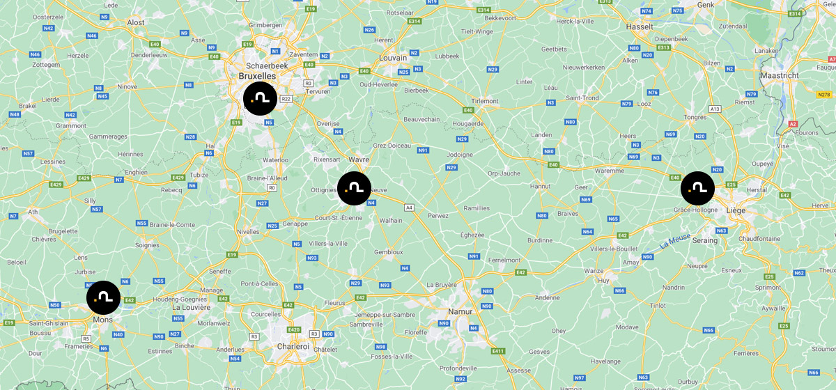 Map Rue Du Village 9 B 4347 Fexhe Le Haut Clocher